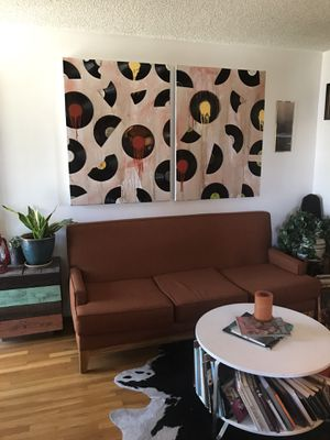 2 ABSTRACT VINYL ART PIECES for Sale in Los Angeles, CA