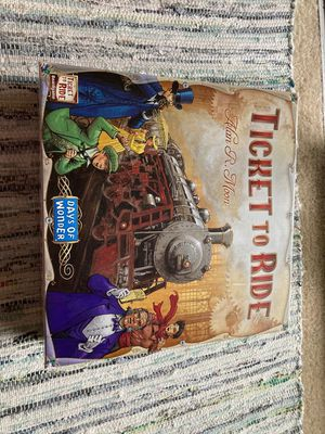 Ticket to ride - board game for Sale in Bailey's Crossroads, VA