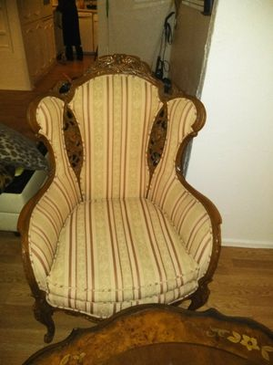 Antique chair and tables for Sale in Arlington, TX