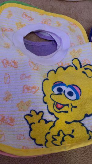 Baby bibs 8 terry cloth with plastic back 6$ for Sale in Philadelphia, PA