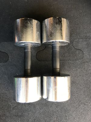 Dumbbells (2x30s) for $45 Firm!!! for Sale in Burbank, CA