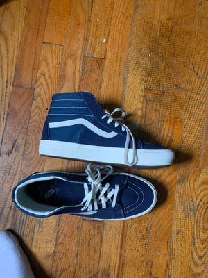 Size 12 Blue Hi top Vans for Sale in Fort Washington, MD