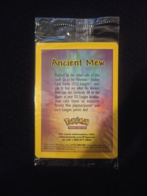 Pokemon Sealed Ancient Mew for Sale in Los Angeles, CA