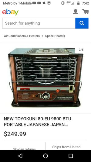 Portable heater for Sale in Houston, TX