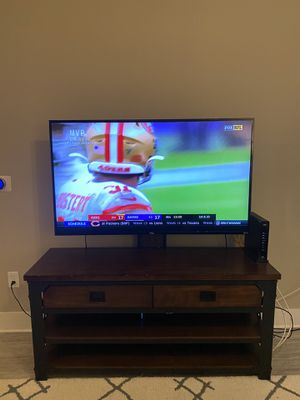 "55"" TCL ROKU TV + stand for Sale in Jacksonville, FL"