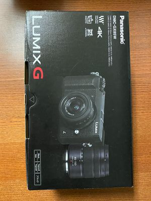 New Lumix GX85 4k camera, 12-32mm & 45-150 bundle for Sale in Irvine, CA