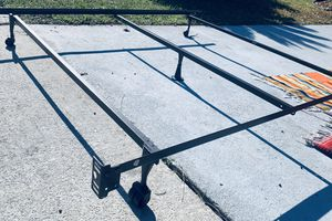 👑QUEEN Bed Frame Bed Rail🎶 for Sale in Jacksonville, FL