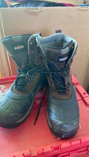 Aggressor t-max insulation boots for Sale in Phoenix, AZ