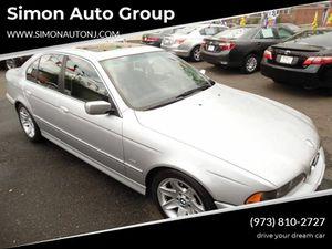 2002 BMW 5 Series for Sale in Newark, NJ