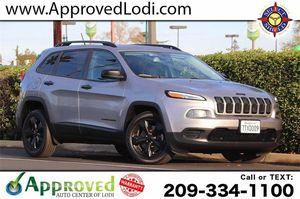 2016 Jeep Cherokee for Sale in Lodi, CA