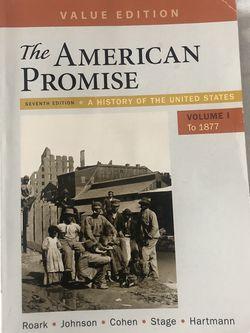 The American Promise Volume 1 for Sale in La Puente,  CA