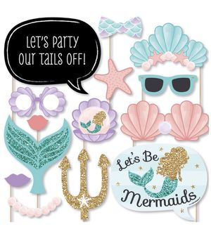 Mermaid photo booth props for Sale in Fontana, CA