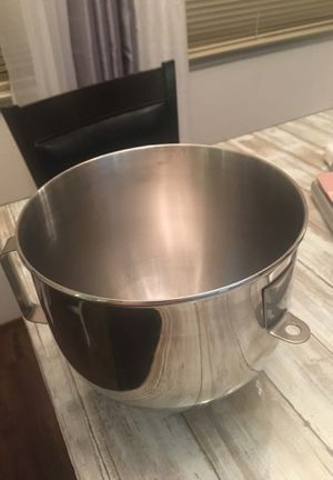 5qt kitchen aid bowl for stand mixer for Sale in Oakley, CA