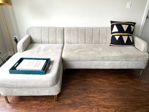 West Elm Valencia Sectional Couch for Sale in Rockville, MD