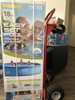INTEX 18 x 48 easy set pool for Sale in Lexington, KY