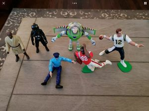 Star Wars toy story football action figures for Sale in Stoughton, MA