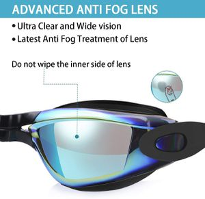 Swim Goggles, No Leaking Anti Fog UV Protection Swimming Goggles for Men Women Adult Youth Kids (Over 6 Years Old) with Free Protection Case for Sale in New York, NY
