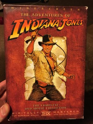 Indiana Jones Complete DVD Set for Sale in Midwest City, OK