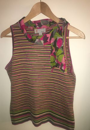 Missoni - wool shirt with silk collar for Sale in Silver Spring, MD