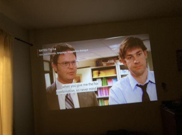 Blusmart Projector
