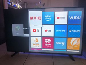 55 inch sharp 4K smart TV Netflix YouTube vudu for Sale in Tampa, FL