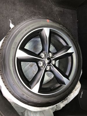 "2020 Mustang Wheels Rims 18"" NEW TIRES GT ECOBOOST for Sale in Jacksonville, FL"