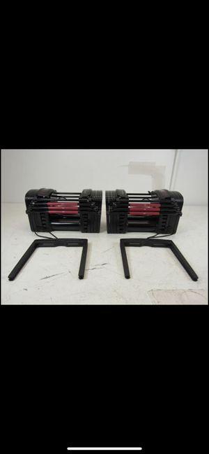 PowerBlock EXP Stage 1 Set Adjustable Dumbbells - 5-50 lbs. PAIR for Sale in Norwalk, CA