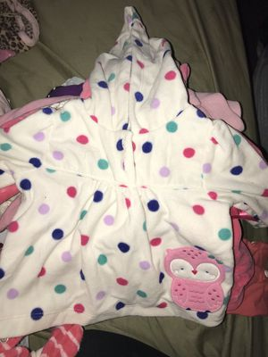 2 trash bags full of baby and toddler clothing for girl for Sale in Chandler, AZ