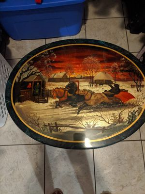 Russian painted side table for Sale in Longwood, FL