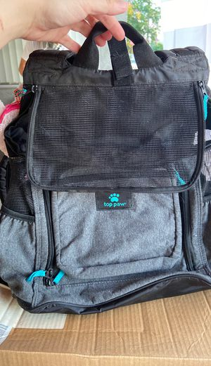 Dog/cat backpack comfortable for Sale in Rowland Heights, CA