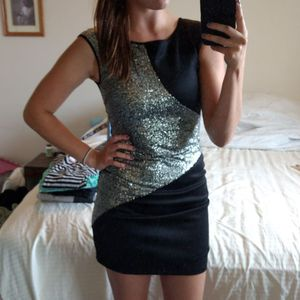 Black & Silver Sequin Party Dress for Sale in Wenatchee, WA