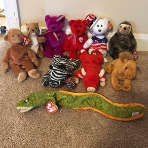 Ty Beanie Babies for Sale in Callaway, MD