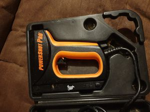 Powershot Pro electric stampler & nail gun for Sale in Easley, SC