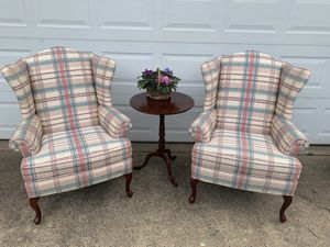 Pair of wingback chairs for Sale in Herndon, VA