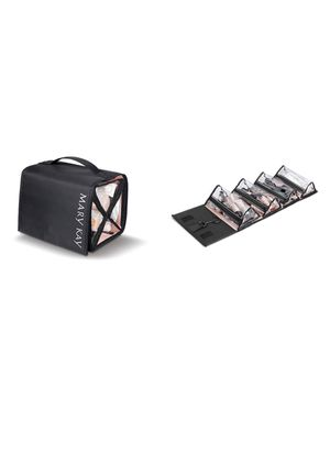 Black Travel Roll-Up Cosmetic Bag (Unfilled) for Sale in Pasco, WA