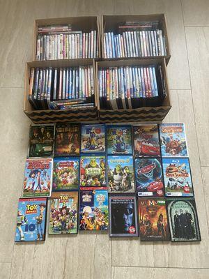 DVD Blue Ray Movie Lot Disney for Sale in Davie, FL