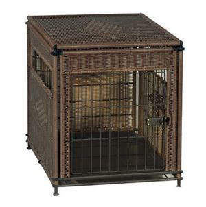 Rattan dog crate for large dog for Sale in Atlanta, GA