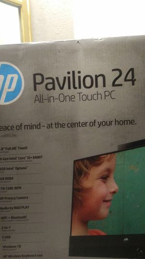 Hp pavilion 24 all in one touch pc TOUCH SCREEN for Sale in Fresno, CA