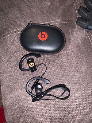 power beats headphones work great like new for Sale in Bellevue, WA