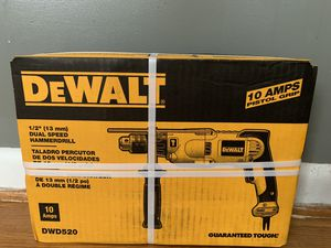 Dual speed dewalt hammer drill for Sale in Winston-Salem, NC