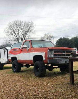 1980 gmc jimmy / chevy k5 blazer for Sale in Terrell, TX