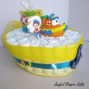 Fisherman Boy Diaper Cake for Sale in Richardson, TX