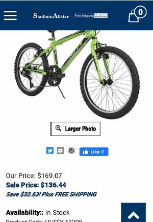 20inches bike for Sale in Greenville, NC