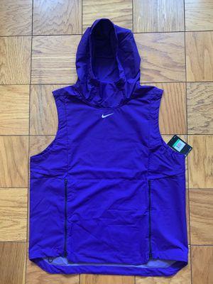 Nike Alpha Fly Rush 908420-545 Purple Hoodie Vest Sleeveless Jacket Men's XL for Sale in Brooklyn, NY