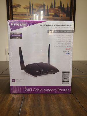 Netgear AC1200 modem router for Sale in Lynnwood, WA
