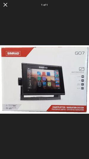 Simrad go7 and transducer for Sale in Huntington Beach, CA