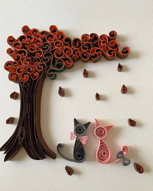 Handmade Frame Gifts - Tree and Cats for Sale in Norfolk, VA