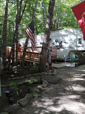 Wooden deck and ramp for Sale in Standish, ME