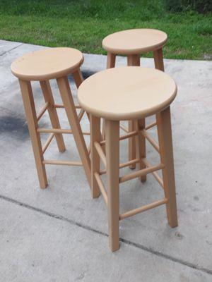 3 bar stools for Sale in San Antonio, TX