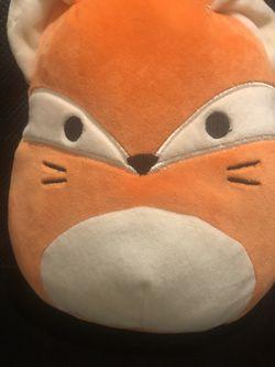 Fox Stuffed Animal squishmallows for Sale in Westport,  MA